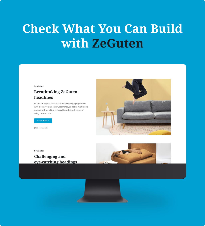ZeGuten — Blocks for Gutenberg - 3