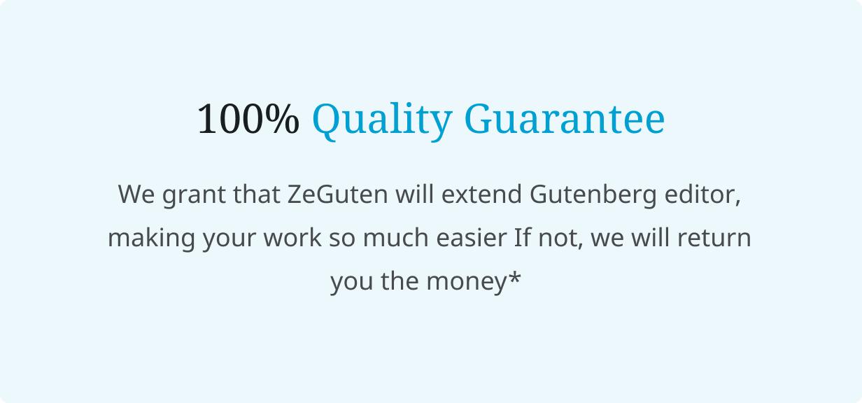 ZeGuten — Blocks for Gutenberg - 7